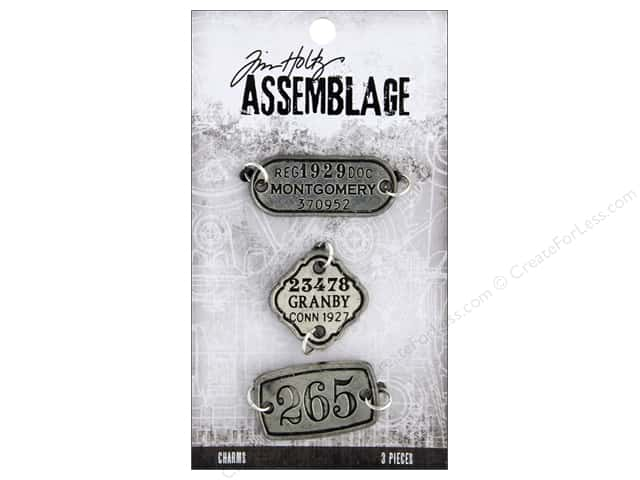 Tim Holtz Assemblage Charms Tags