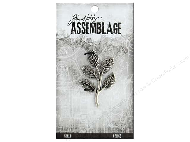 Tim Holtz Assemblage Charms Foliage