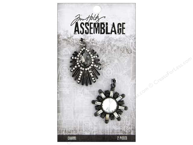 Tim Holtz Assemblage Charms Deco Finery