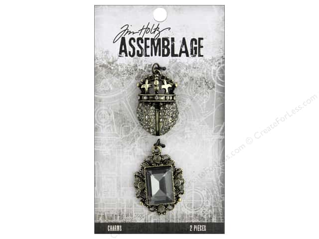 Tim Holtz Assemblage Charms Regal