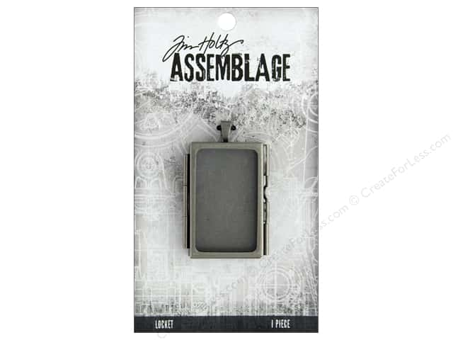 Tim Holtz Assemblage Locket Rectangle