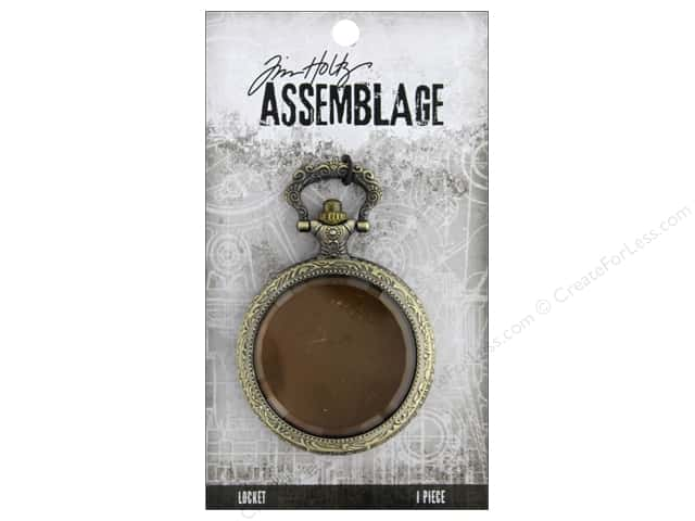 Tim Holtz Assemblage Locket Pocket Watch