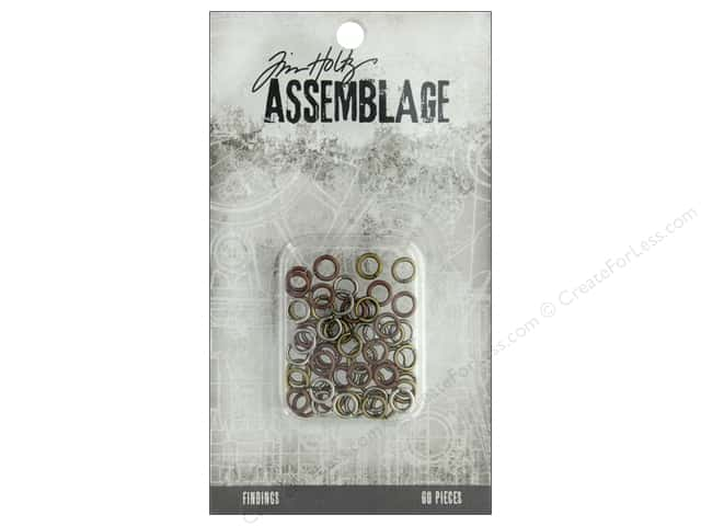 Tim Holtz Assemblage Findings Jump Rings Assortment