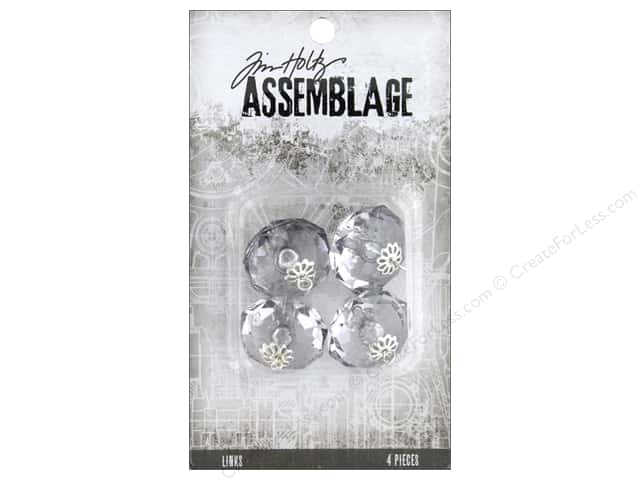 Tim Holtz Assemblage Links Crystals Large