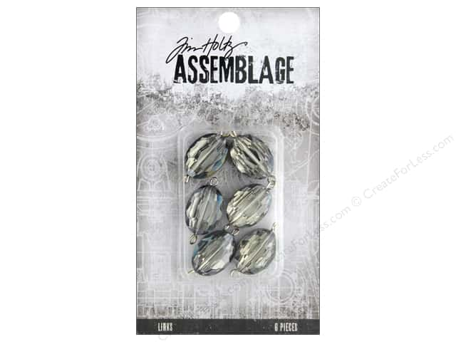 Tim Holtz Assemblage Links Mirror Smokey