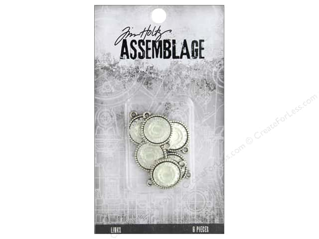 Tim Holtz Assemblage Links Mirror Medallions