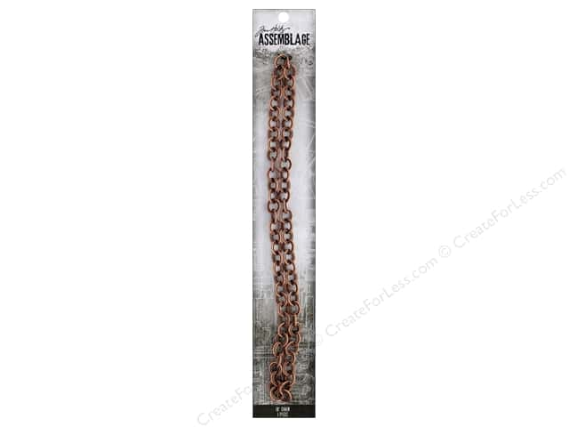 Tim Holtz Assemblage Chain 18 in. Loop Copper