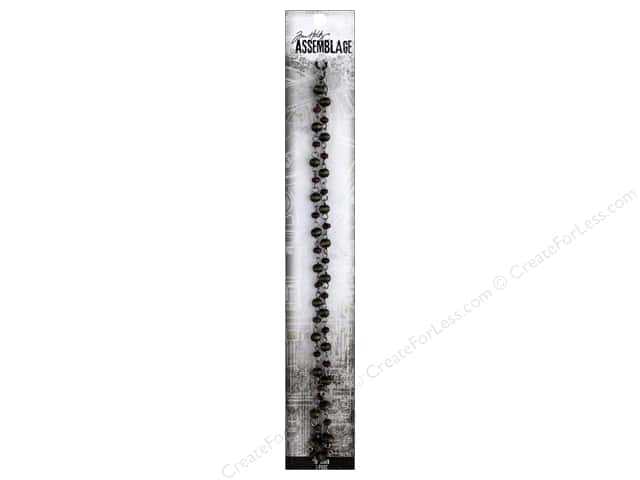 Tim Holtz Assemblage Chain 18 in. Beaded Wood