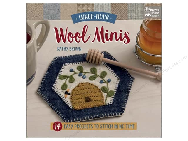 That Patchwork Place Lunch Hour Wool Minis Book