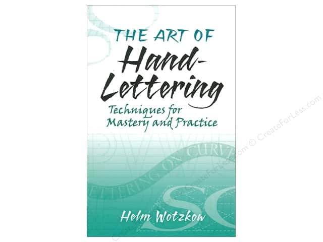 Dover Publications Art Of Hand Lettering Book