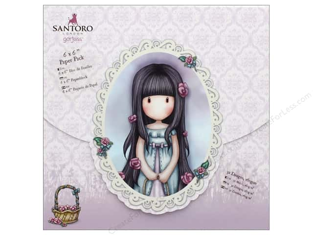 Docrafts Santoro Gorjuss In The Garden Paper Pack 6 in. x 6 in.