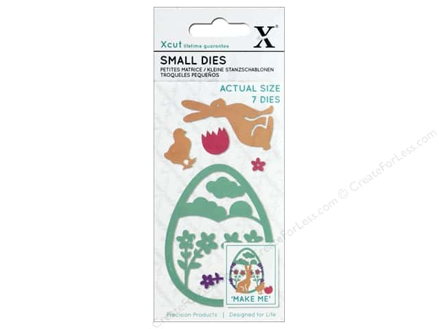 Docrafts Xcut Die Small Easter Rabbit