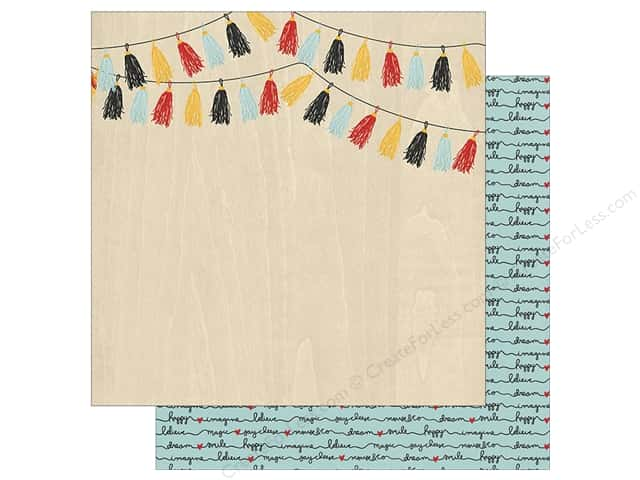 Simple Stories Collection Say Cheese III Paper 12 in. x 12 in. Hello Adventure (25 pieces)