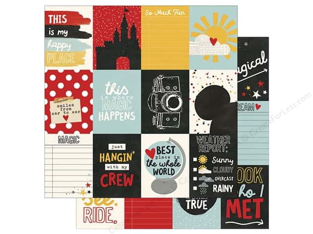 Simple Stories Collection Say Cheese III Paper 12 in. x 12 in. Journaling Card 3 in. x 4 in. (25 pieces)