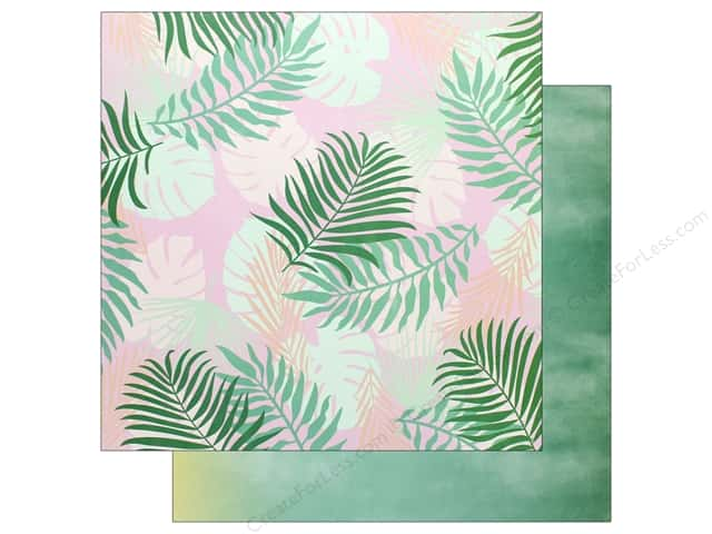 Pink Paislee Collection Confetti Wishes Paper 12 in. x 12 in. Paper 4 (25 pieces)
