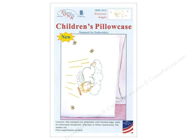 Jack Dempsey Children's Pillowcase Precious Angel