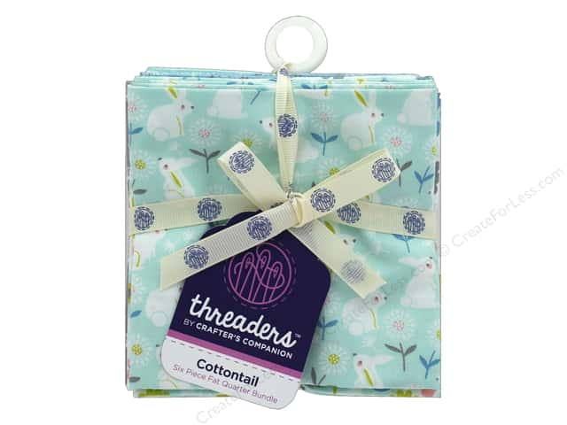 Crafter's Companion Threaders Fat Quarter Bundle Cottontail