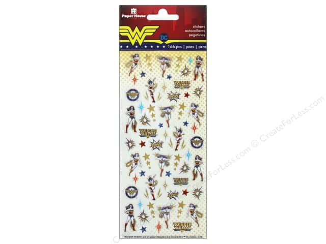 Paper House Collection Life Organized Sticker Micro Wonder Woman