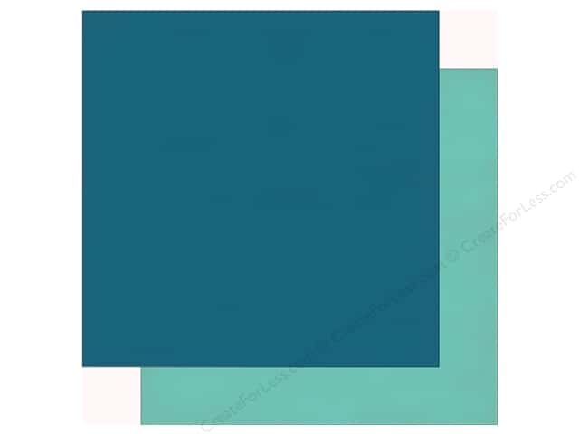 Echo Park Imagine That Girl Paper 12 in. x 12 in. Navy/Teal (25 pieces)