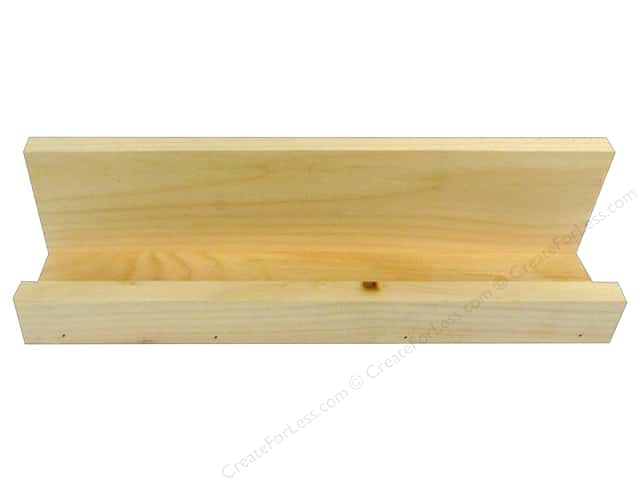 Walnut Hollow Wood Shelf Pine Photo Ledge Small 14.75 in. x 4 in.
