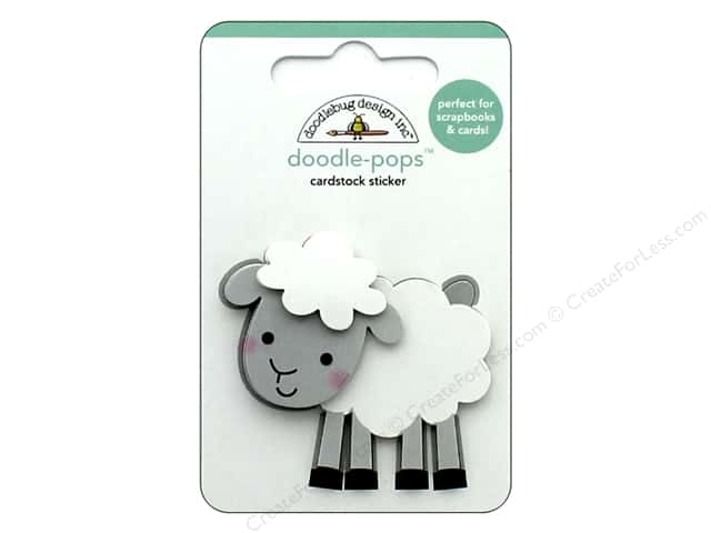 Doodlebug Collection Down On The Farm Doodle Pops Little Lamb