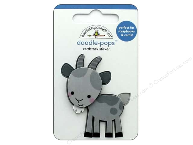 Doodlebug Collection Down On The Farm Doodle Pops Billy Goat