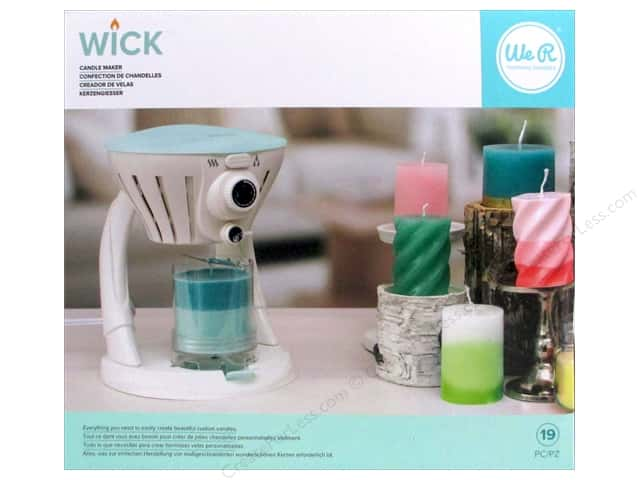 We R Memory Keepers Wick Candle Maker