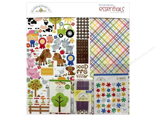 Doodlebug Collection Down On The Farm Essentials Kit