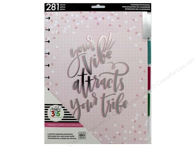 Me&My Big Ideas Collection Create 365 Happy Planner Extensions Big Month Can Do
