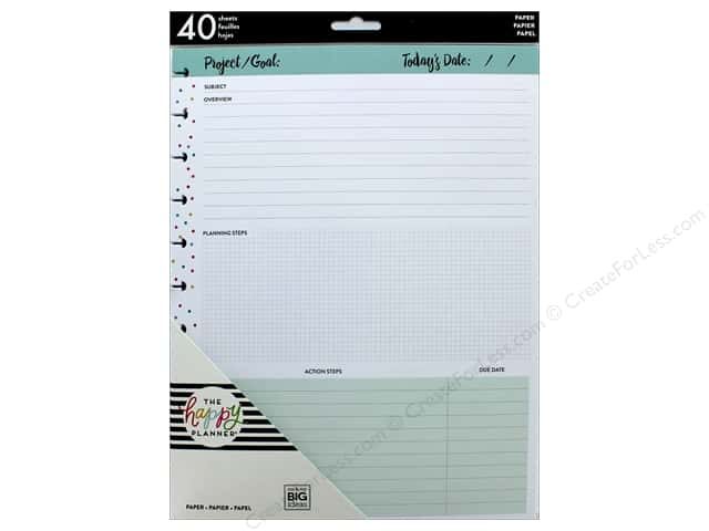 Me&My Big Ideas Collection Create 365 Happy Planner Big Filler Project