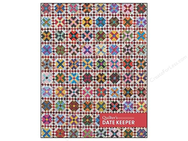 C&T Publishing Quilter's Date Keeper Perpetual Week Calendar