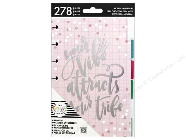 Me&My Big Ideas Create 365 Happy Planner Extensions Mini Month Rainbow