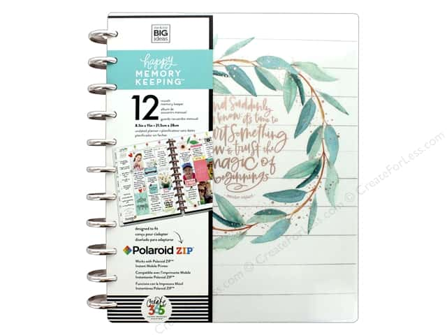 Me&My Big Ideas Collection Create 365 Happy Memory Keeping Planner Big Rustic
