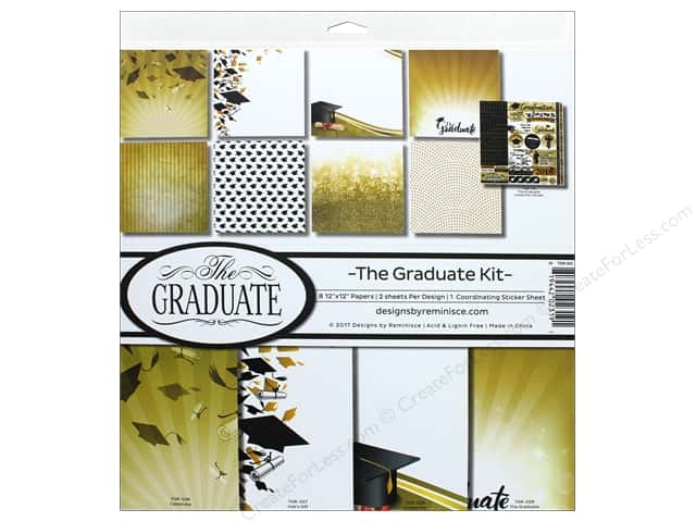 Reminisce The Graduate 2018 Pack 12 in. x 12 in.