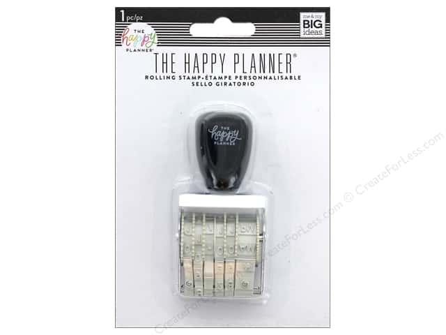 Me&My Big Ideas Collection Create 365 Happy Planner Stamp Hourly Time