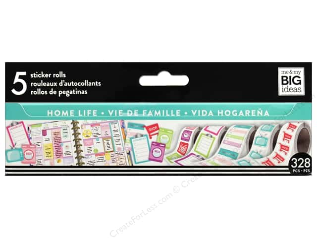 Me&My Big Ideas Collection Create 365 Happy Planner Sticker Roll Home Life