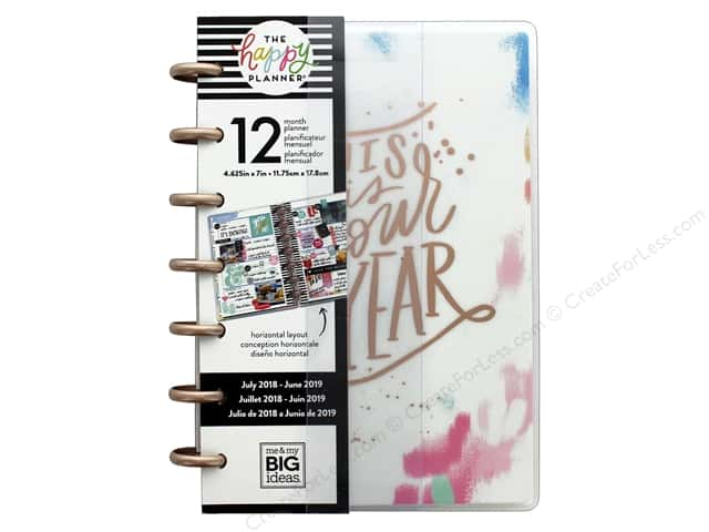 Me&My Big Ideas Collection Create 365 Happy Planner Mini 12 Month Your Year