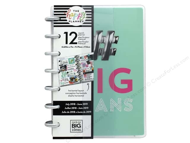 Me&My Big Ideas Collection Create 365 Happy Planner Mini 12 Month # Big Plans