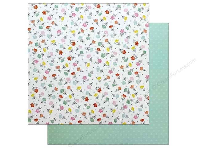 American Crafts Dear Lizzy Stay Colorful 12 in. x 12 in. Flower Child (25 pieces)