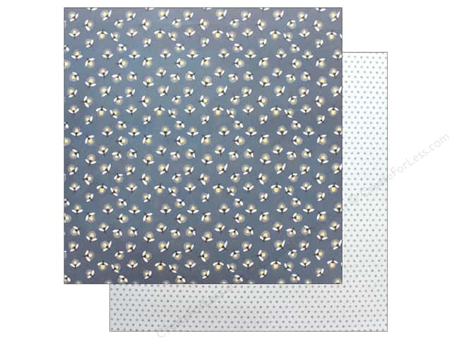 American Crafts One Canoe Two Twilight Paper 12 in. x 12 in. Fireflies (25 pieces)