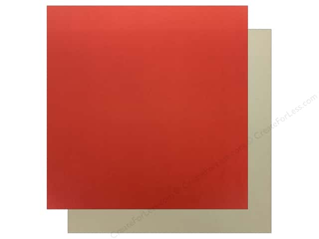 Echo Park Wish Upon A Star Paper 12 in. x 12 in. Red/Cream (25 pieces)