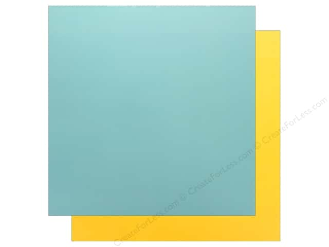 Echo Park Wish Upon A Star Paper 12 in. x 12 in. Blue/Yellow (25 pieces)