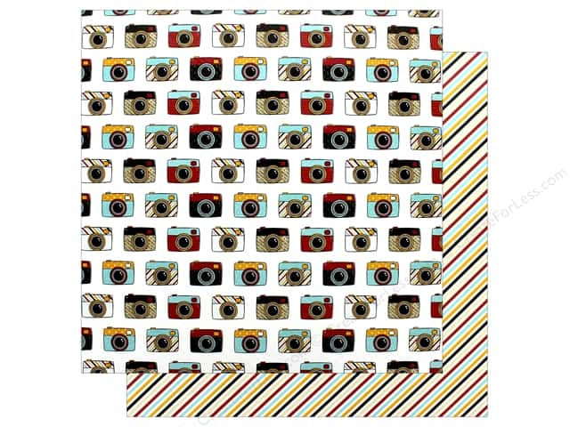 Echo Park Wish Upon A Star Paper 12 in. x 12 in. Say Cheese (25 pieces)