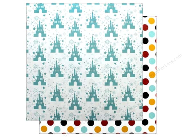 Echo Park Wish Upon A Star Paper 12 in. x 12 in. Magical Castle (25 pieces)