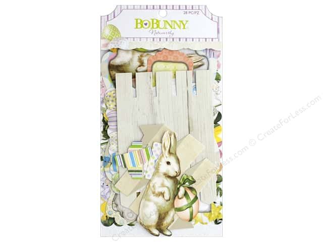 Bo Bunny Collection Cottontail Noteworthy
