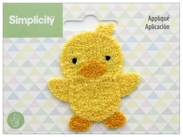 Simplicity Applique Sew On Chick