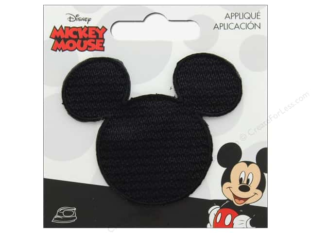 Simplicity Applique Disney Iron On Mickey Head