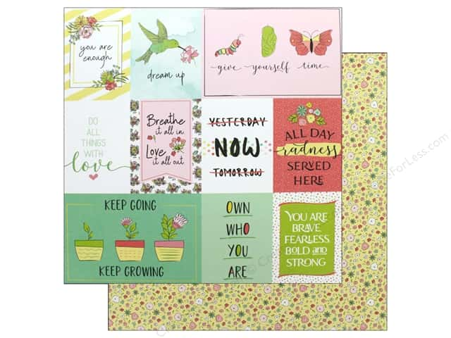 Photo Play Spread Your Wings Paper 12 in. x 12 in. Grow (25 pieces)