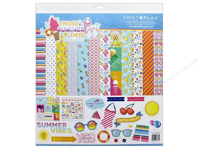 Photo Play Those Summer Days Pack  12 in. x 12 in.