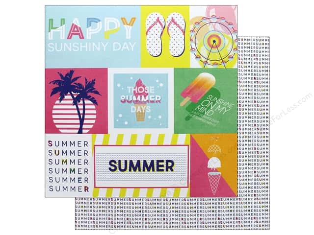 Photo Play 12 x 12 in. Paper Those Summer Days Chill Out